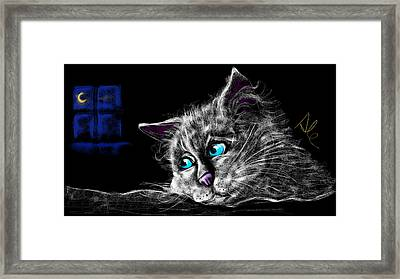 Missing You Framed Print by Alessandro Della Pietra