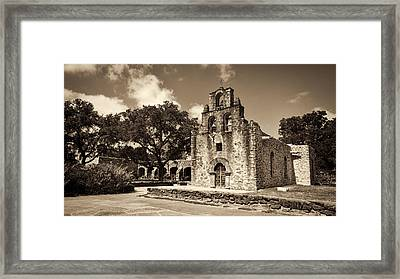 Mission Espada #2  Framed Print by Stephen Stookey