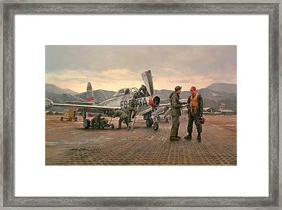 Mission From Taegu Framed Print by National Guard Bureau