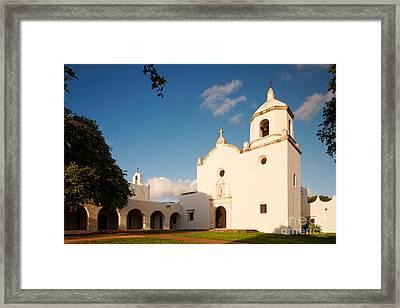 Mission Nuestra Senora Del Espiritu Santo De Zuniga At Sunset - Goliad Coastal Bend Texas Framed Print by Silvio Ligutti