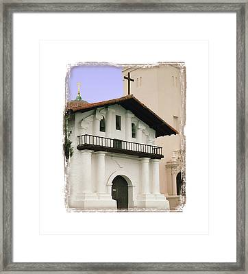 Mission San Francisco De Asis - I Framed Print by Ken Evans