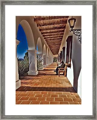 Mission San Luis Rey Framed Print by Karyn Robinson