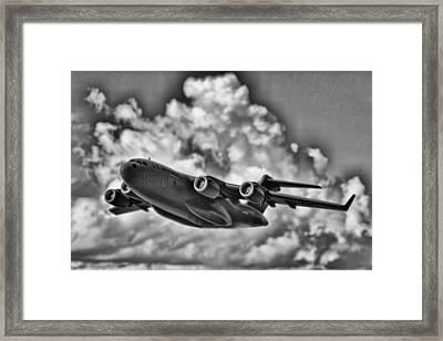 Mission-strategic Airlift Framed Print by Douglas Barnard