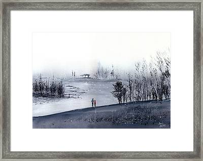 Mist Framed Print by Anil Nene