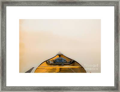 Mist Framed Print by Chris Mason