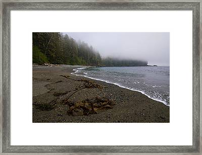 Mist Rising Framed Print by Heather K Jones