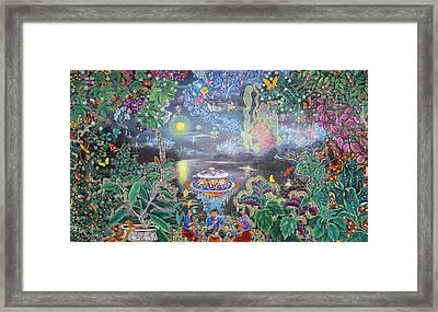 Misterio Profundo Framed Print by Pablo Amaringo