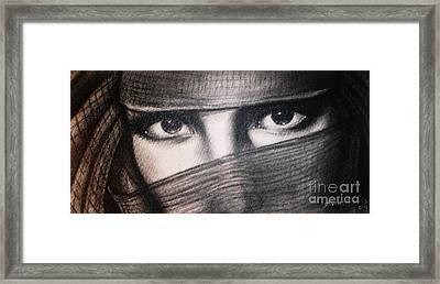 Mistic Eyes Framed Print by Anastasis  Anastasi