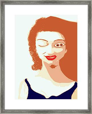 Mistress Of Duality Framed Print by Keshava Shukla