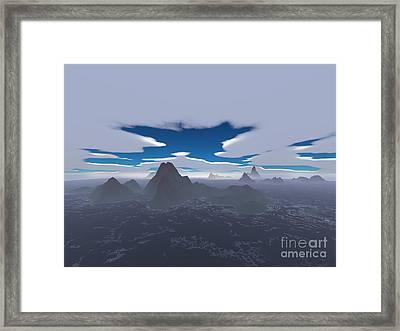 Misty Archipelago Framed Print by Gaspar Avila