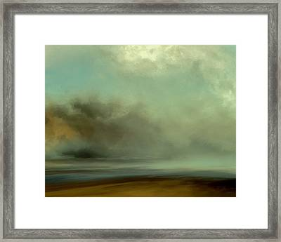 Misty Cove Framed Print by Lonnie Christopher