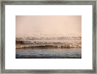 Misty Mist Framed Print by Svetlana Sewell