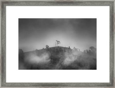 Misty Moods Framed Print by Az Jackson