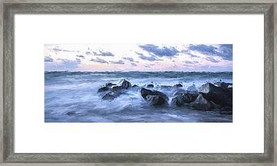 Misty Morning II Framed Print by Jon Glaser