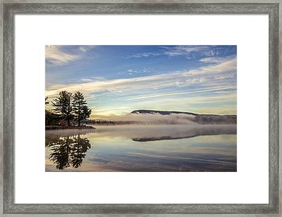 Misty Morning Framed Print by Mark Papke