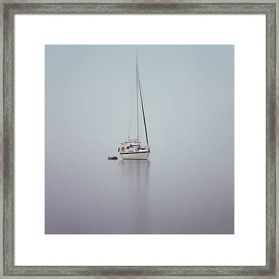 Misty Weather Framed Print by Stelios Kleanthous
