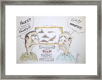 Misunderstood Framed Print by Paul Chestnutt