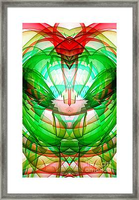 Mixed Bliss Framed Print by Marie Ward-Alonge