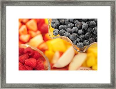 Mixed Fruit 6904 Framed Print by PhotohogDesigns