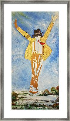 Mj Abstract Framed Print by Dr Frederick Glover