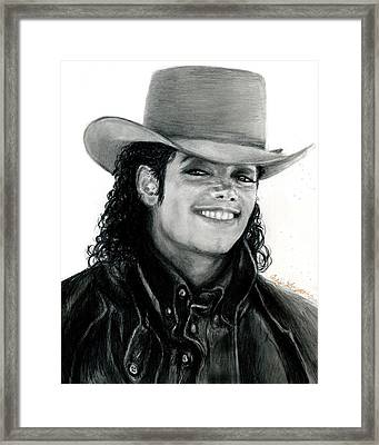 Mj Ranch Style Framed Print by Carliss Mora