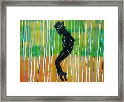 MJ Framed Print by Vishal Dharmani
