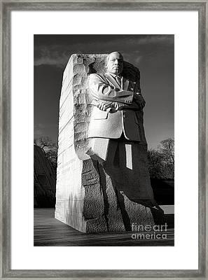 MLK Framed Print by Olivier Le Queinec