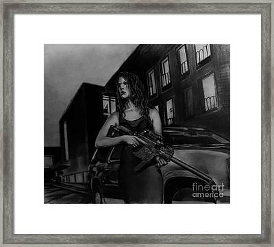 Mob Squad  Framed Print by Gary Reising