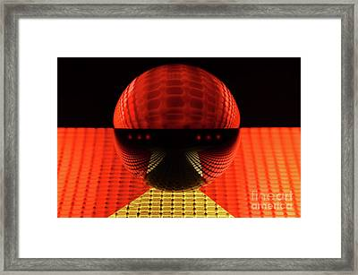 Mobious 16 Framed Print by Bob Christopher