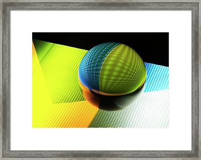 Mobious 2 Framed Print by Bob Christopher