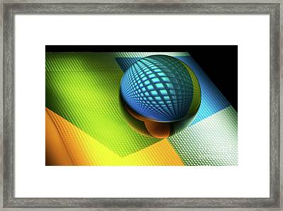 Mobious 4 Framed Print by Bob Christopher