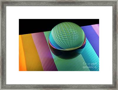 Mobious 6 Framed Print by Bob Christopher