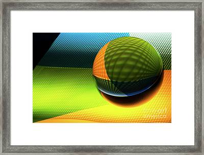 Mobious 8 Framed Print by Bob Christopher