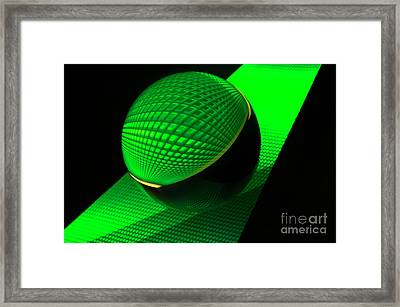 Mobious 9 Framed Print by Bob Christopher