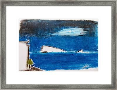 Moby Dick Framed Print by Keshava Shukla