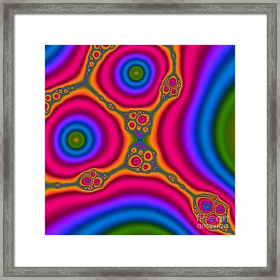 Mocha 110 Framed Print by Rolf Bertram