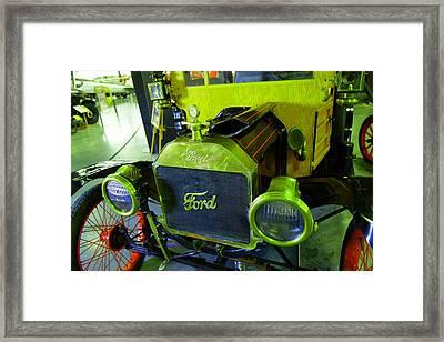 Model T Restored  Framed Print by Jeff Swan