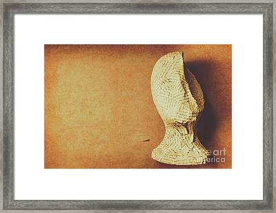 Modelling The Right Brain Intellect Framed Print by Jorgo Photography - Wall Art Gallery