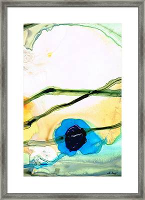 Modern Abstract Art - A Perfect Moment - Sharon Cummings Framed Print by Sharon Cummings