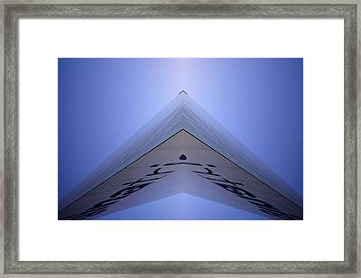 Modern Building  Framed Print by Toppart Sweden