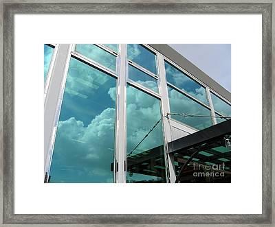 Modern Company Building Framed Print by Yali Shi