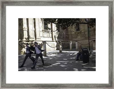 Modern Times 2 - Sevilla Framed Print by Madeline Ellis