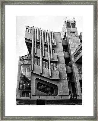 Modernist Perspective  Framed Print by Philip Openshaw