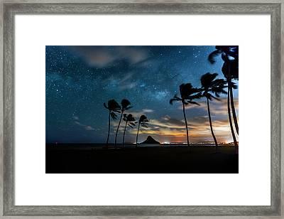 Hawaiian Stardust Framed Print by Sean Davey