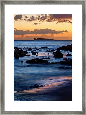 Molokini Framed Print by Kelley King