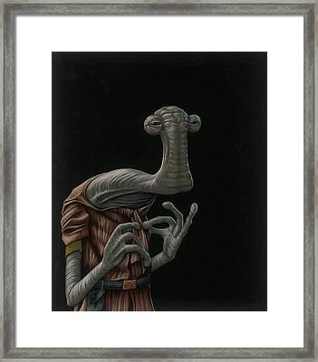 Momaw Nadon Framed Print by Jasper Oostland