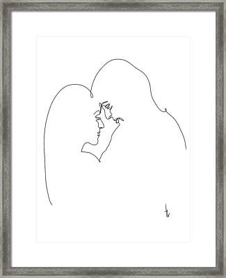 Moment Framed Print by Harold Belarmino