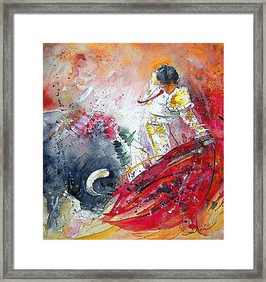 Moment Of Truth 2010 Framed Print by Miki De Goodaboom