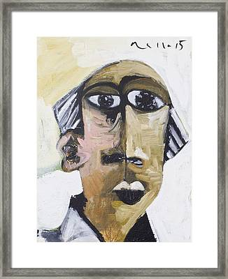 Momentis Th Old Man Framed Print by Mark M  Mellon
