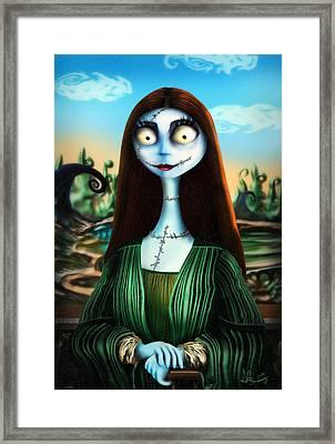 Mona Lisa Framed Print by Alessandro Della Pietra